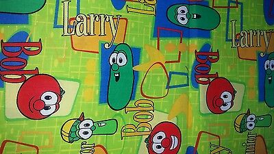 Handmade Veggie Tales Baby small pillowcase