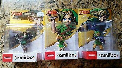 The Legend Of Zelda Skyward Sword  Majoras Mask  Twilight Princess Amiibo