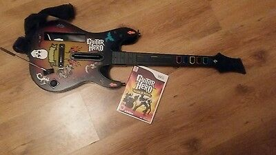 Guitar hero for wii with guitar