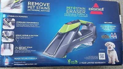 New Bissell Pet Stain Eraser Cordless Bagless Upholstery   Carpet Cleaner 2003