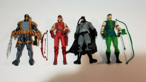 Dc Direct DC Collectibles Lot Of 4 Batman Green Arrow Deathstroke Arsenal Rare - $60.00