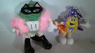 FANCY CAT & WIZARD Halloween Fun ! - Vintage M&M 8