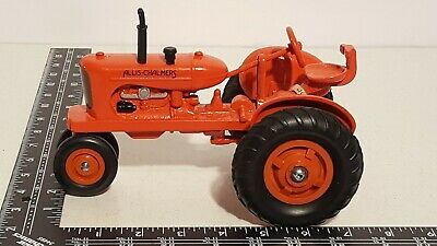 Ertl Allis Chalmers WC w/ custum rubber tires 1/16 diecast farm tractor replica (Batman Custumes)