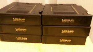 GENUINE LEXUS 6 Disc CD Changer MAGAZINE CARTRIDGE CRW1342-B OEM Factory Lexus.