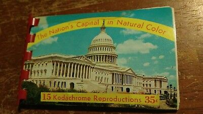 Vintage Souvenir: The Nations Capital in Natural Color USA! Kodachrome