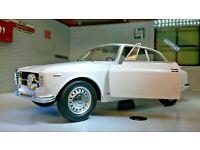 1:24 Scale Lancia Aurelia B24 Spider 1954 V6 Whitebox Leo Models Diecast Model
