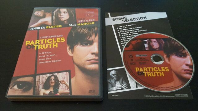 Particles Of Truth (DVD) Jennifer Elster film Gale Harold Matter Productions