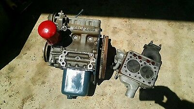 Kubota 2 Cylinder Diesel Z482 Engine 13.3 Hp For Parts. Crankshaft Only.