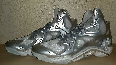 BRAND NEW RARE UNDER ARMOUR SPAWN ANATOMIX SILVER mvp CURRY 1 SC30  SZ 11.5 new