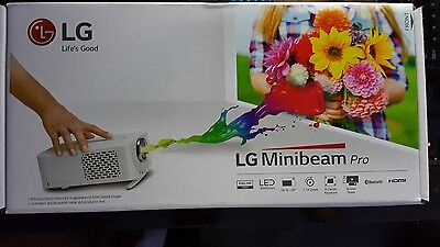 LG PF1500W Minibeam Pro LED Projector -2017 WebOS/1080p/1500 lumen/BT Audio- New