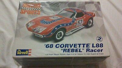 REVELL 1968 CORVETTE L88  MODEL KIT BRAND NEW FACTORY SEALED