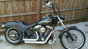 2006 Harley Davidson Night Train (Pearl Black) Brookfield Melton Area Preview