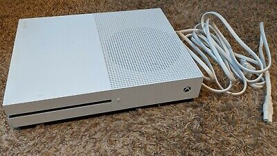 Microsoft Xbox One S 500GB White Console Only - Used but works great!