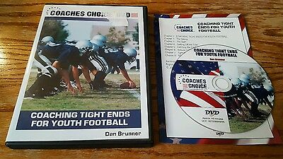 Coaches Choice: Coaching Tight Ends for Youth Football (DVD) Dan Brunner