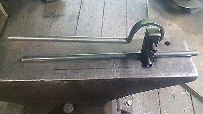 Blacksmith Start Fuller Anvil Hardy vise hammer forge swage tool