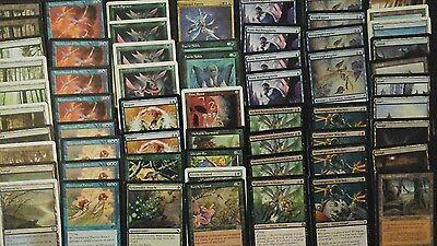 MtG Feen Deck, 60 Karten, spielfertig, 4 Rares und 11 UC