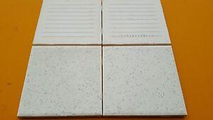 4 pc American Olean Vintage Ceramic Tile 4 1/4