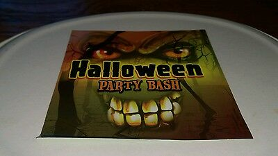 HALLOWEEN PARTY BASH CD Ghostbusters The Time Warp Monster Mash Soul Man Hot oop - Halloween Party Music Ghostbusters