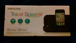 Memorex Travel Speaker iPod iPhone MA3122
