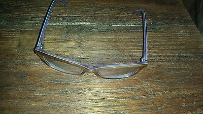 Brillengestell von Fielmann Lila und hellbraun Design 506 A