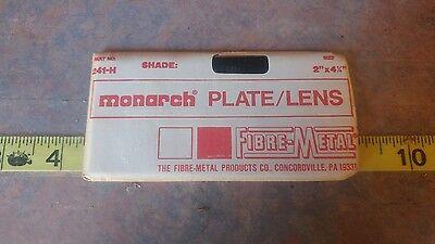 Welding Plate Lens 2 X 4-14 By Fibre-metal Monarch Shade T12h Bin11