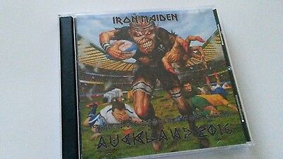 Iron Maiden Double CD Auckland New Zealand  The Book Of Souls Tour 2016