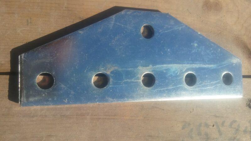 Unistrut P1953  6-Hole Flat Plate Fitting