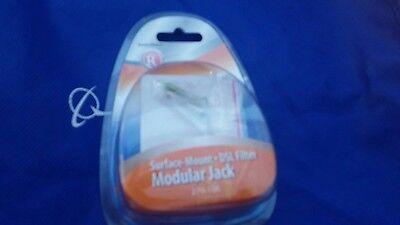 RadioShack Surface Mount DSL Filter Modular Jack 279-106 -  FREE SHIPPING Modular Surface Mount