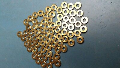 New and unused Metal spacers. (75 Pieces).