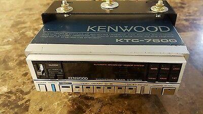 Kenwood KTC-7600 vintage car tuner