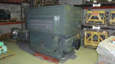 1000 Hp U.s. Electric Motor 900 Rpm 6811us Frame Wpii 4000 V
