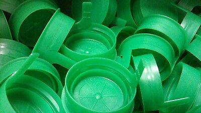 Bag of 25 New Plastic Milk Caps for plastic Quart bottle ~ 1 1/2 inch  OD