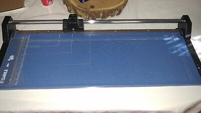 USED DAHLE 554  ROLLING TRIMMER  CUTTER