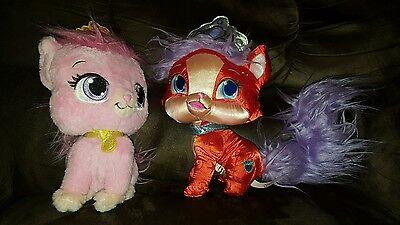 Disney Princess Palace Pets Pink  Dreamy Sleeping Beauty Cat  Ariels Cat Plush