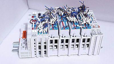 Beckhoff Bk7150 Cc-link Bk7150 Kl6001 Kl9010 2x Kl9184 4x Km1002 Plc Terminal