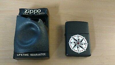 Marlboro Cigarettes Country Store Compass New Zippo Lighter in box