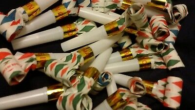 36 NOISEMAKER BLOW OUTS New Years, Birthday Party Favor, Celebrations, Graduates](Graduation Noisemakers)