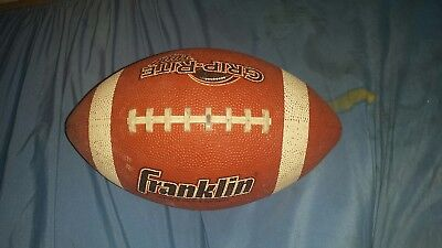 Franklin Sports Grip Rite Football  Junior Size