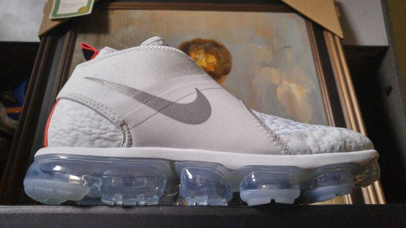 02d6d2e7cd2 Nike Air Vapormax Chukka Slip size 8.5 Pure Platinum Silver White AO9326 001