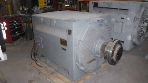 800 HP General Electric Synchronous Motor, 600 RPM, 8407S Frame, 4160 V