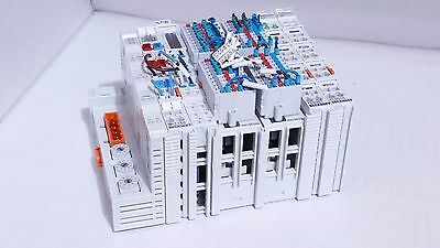 Beckhoff Bk7150 Cc-link Kl9184 Kl9010 Kl6001 2x Km1002 Plc Terminal