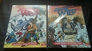 ADAM WILD n. 2 e 3 EDICOLA - Italia - ADAM WILD n. 2 e 3 EDICOLA - Italia