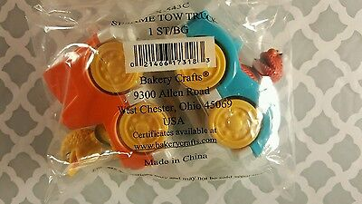 SESAME STREET Tow Truck Cake Topper TOY Elmo and Big Bird Bakery Crafts