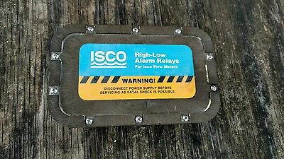 Isco 603404028 High-low Alarm Relay Box Assy 12 Vdc Brand New