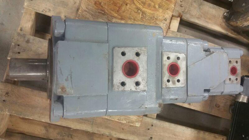 Bucher Hydraulic Gear Pump QT62-125/52-063/42-032  #1506W