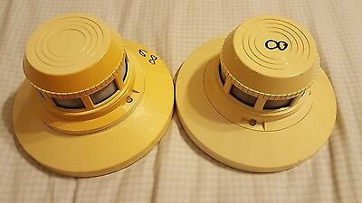 Set Of 2 System Sensor 400 Series Addressable Photoelectronic Smoke Detectors
