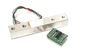 1KG Load Cell Weight Sensor plus HX711 A/D Signal Amplifier Ships from USA