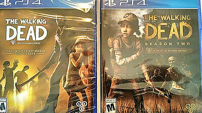 The Walking Dead: The Complete Seasons 1&2 (Sony PlayStation 4) Both Games for sale  Shipping to South Africa