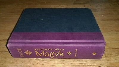 Septimus Heap Book One Magyk Magic Angie Sage Mark Zug Katherine Tegen Book hc
