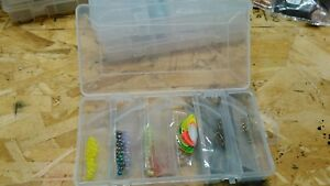 Lure making kit ebay fishing spinner bladelure making kit 201 pc w organizer makes 25 spinners solutioingenieria Image collections